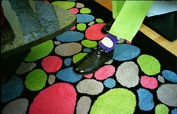 El botón sobre la alfombra © Pedro Meyer 1994