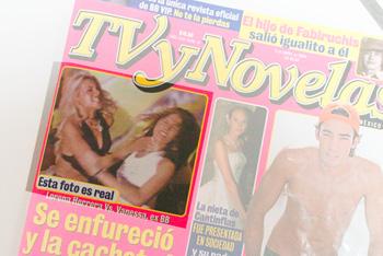 TVyNovelas magazine cover