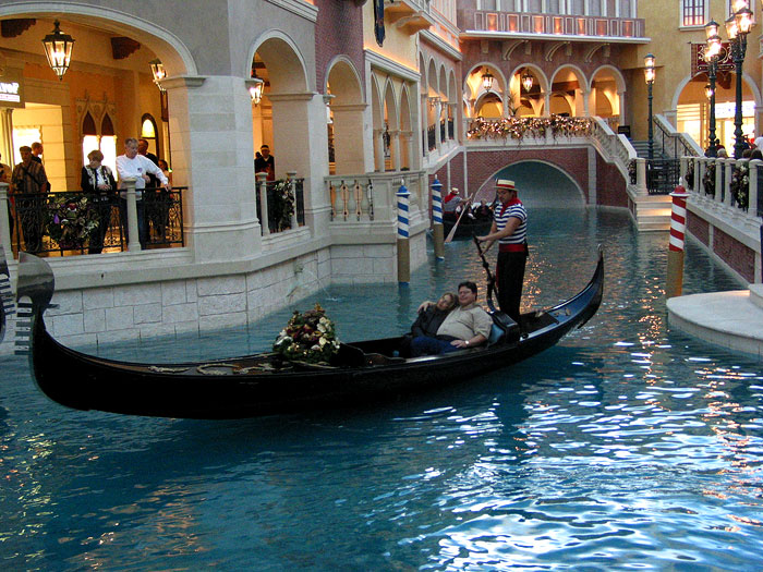 The Venetian, Las Vegas © Pedro Meyer, 2001