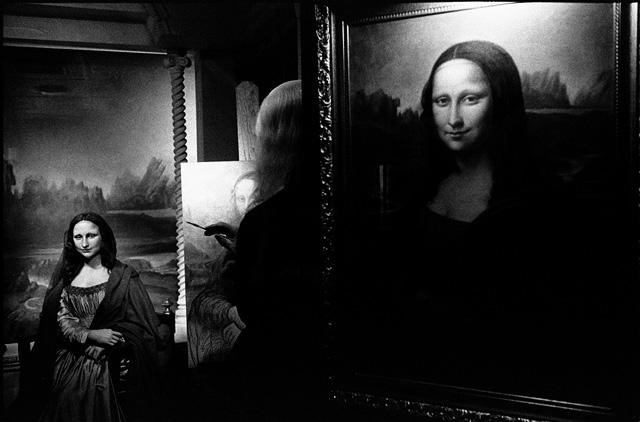 Mona Lisa en el Museo de Cera, San Francisco, California © Pedro Meyer, 1986