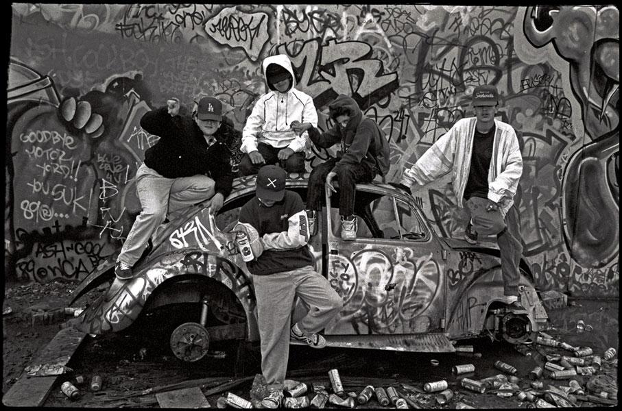Graffiti, Los Angeles © Pedro Meyer, 1989