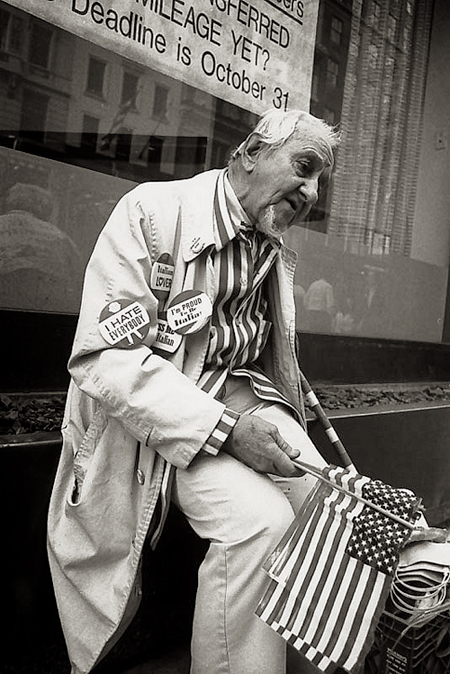 Nueva York, Estados Unidos. 1987 © Pedro Meyer