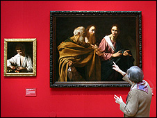 Caravaggio was celebrated for his intense and theatrical lighting
